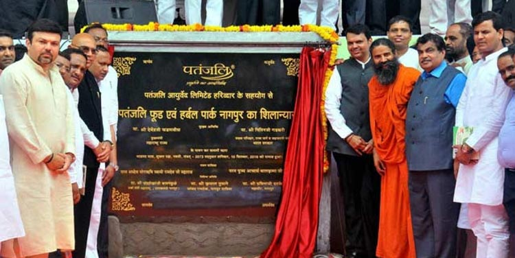 Patanjali food park inaugurated in Nagpur