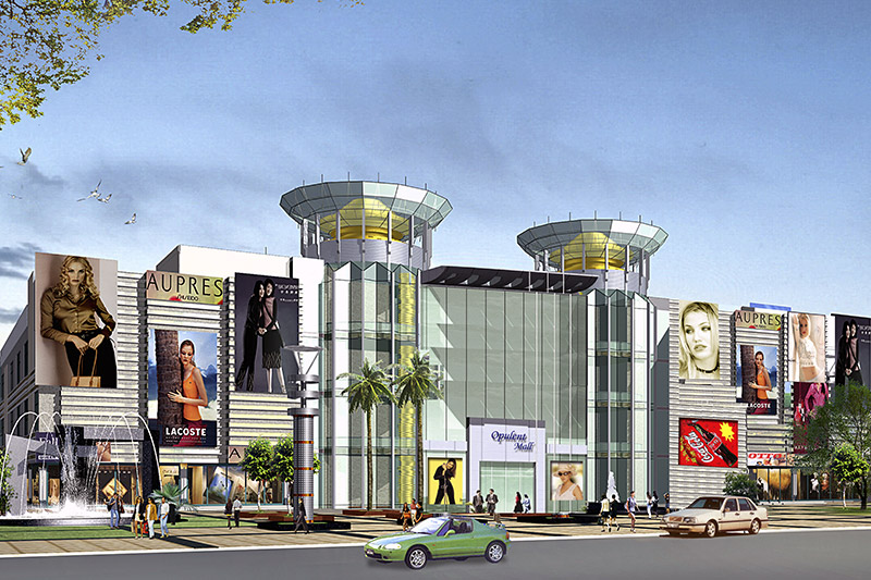 Opulent Mall, Ghaziabad, UP