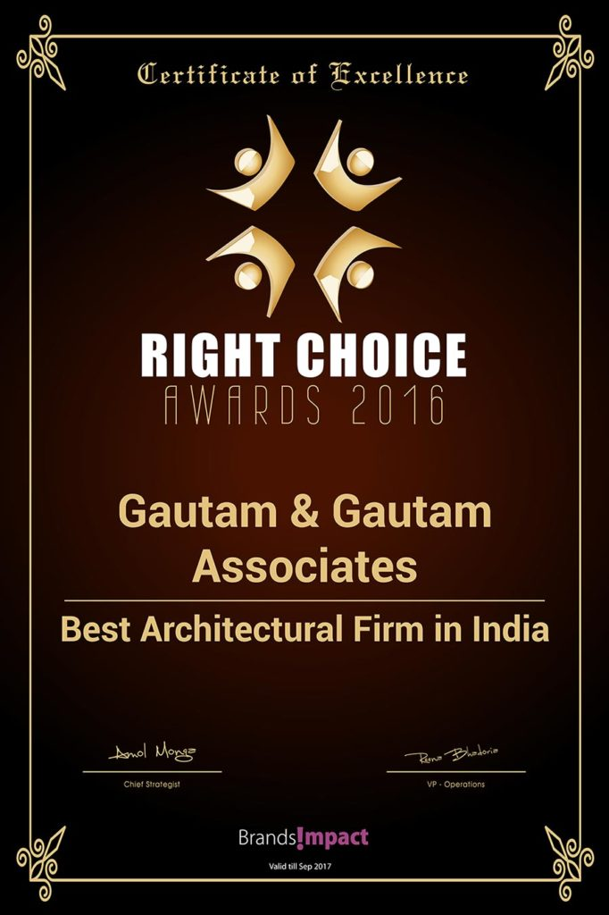 Best Architectural Firm in India 2016