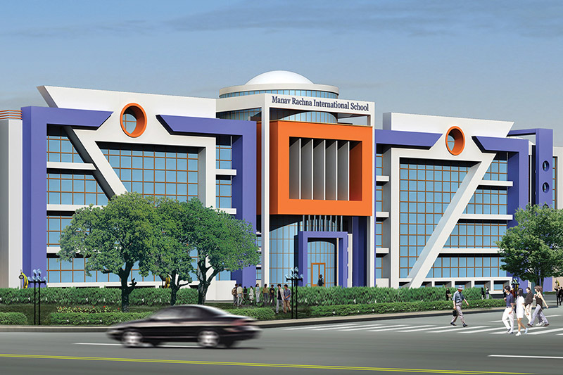 Manav Rachna  International School, Sector-14, Faridabad