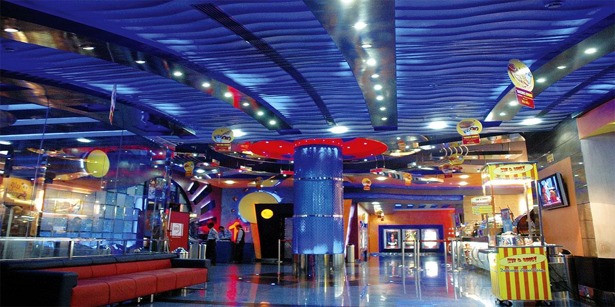 SRS Cinemas, Pristine Mall, Faridabad